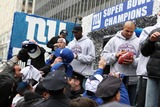 Antonio Pierce Photo - Ticker Tape Parade For NY Giants Super Bowl Champions Date 02-05-08 Photos by John Barrett-Globe Photosinc 2008 Antonio Pierceplaxico Burress