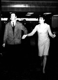 Liza Minnelli Photo - Liza Minnelli and Peter Allen at the London Airport Ii261964 Supplied by Globe Photos Inc Judygarlandobit