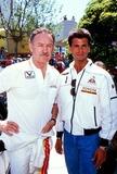 Lorenzo Lamas Photo - Gene Hackman and Lorenzo Lamas Photo Ralph Domiguez - Globe Photos Inc 1987 Genehackmanretro