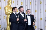 George Clooney Photo - Grant Heslov Ben Affleck George Clooney Winner Best Best Picture 85th Academy Awards  Oscars Dolby Theatre Hollywood CA February 24 2013 Roger Harvey Photo by Roger Harvey- Globe Photos Inc