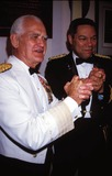 William Westmoreland Photo - 1990 General William Westmoreland and Colin Powell Photo by Adam Scull-Globe Photos