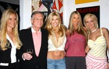 Brande Roderick Photo - Playmate Artist Victoria Fuller Art Exhibition at the Wentworth Gallery at the Grove Los Angeles CA 03182004 Photo by Miranda ShenGlobe Photos Inc 2004 Bridget Marquardt Hugh Hefner Brande Roderick Stephanie Glasson Holly Madison