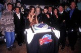 Aaron Spelling Photo - Beverly Hills 90210 Cast Celebrates the 200th Episode at Planet Hollywood Hollywood CA 1997 Photo by Lisa Rose-Globe Photos Brian Austin Green Jason Priestley Tori Spelling Aaron Spelling Ian Ziering