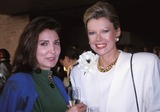 AUDREY GRUSS Photo - Audrey Gruss and Friend Photo by Rose Hartman-Globe Photos