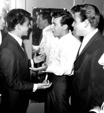 Frankie Avalon Photo - Buddy Bryman Frankie Avalon Bobby Darin and Fabian 1960 1960s Supplied by Globe Photos Inc