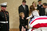 President Ronald Reagan Photo - Nancy Reagan with Patti Davis and Ronald Reagan - Ceremony and Repose at Ronald Reagan Presidential Library in Simi Valley For Former President Ronald Reagan - 06072004 - Photo by PoolGlobe Photos Inc2004