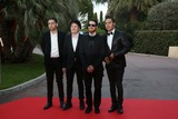 Andy Hurley Photo - Patrick Stump Pete Wentz Joe Trohman and Andy Hurley of Fall Out Boy Attend the 2014 World Music Awards at Sporting Club in Monaco Monte Carlo on 27 May 2014 Photo Alec Michael