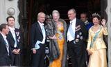 Queen Silvia Photo - K52991State Banquet-Swedish State Visit-Malmo Town Hall Copenhagen Denmark 05-11-2007Photo By Ricardo Ramirez-Richfoto-Globe Photos incSWEDISH ROYAL FAMILY AND DANISH ROYAL FAMILYPRINCE FREDERIK QUEEN MARGRETHE PRINCE JOACHIM OF DENMARK  KING CARL GUSTAV AND QUEEN SILVIA OF SWEDEN