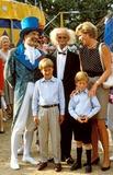 Diana Son Photo - Princess Diana with Prince William and Prince Henry at the Circus Phototim Anderson-alpha-Globe Photos Inc 1990 Princessdianaretro