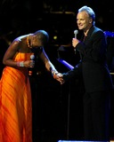 Sting Photo - Singin in the Rainforest the 12th Carnegie Hall Benefit Concert in Support of the Rainforest Foundation Carnegie Hall New York City 04212004 Photo Globe Photos Inc 2004 India Arie and Sting
