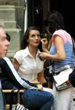 Kristin Davis Photo - Sd0519 Kristin Davis on Location Filmingsex and the City New York City Photorick Mackler  Rangefinders  Globe Photos Inc