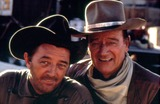 Robert Mitchum Photo - John Wayne and Robert Mitchum Eldorado Photo by Jr Hamilton  Globe Photos Inc
