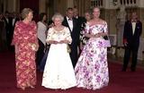 Queen Beatrix Photo - Alpha 048228 17062002 Queen Beatrix of the Netherlands the Queen  Queen Margrethe of Denmark -Golden Jubilee Dinner Party For European Royals at Windsor Castle in Windsor Berkshire Credit AlphaGlobe Photos Inc
