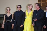 Lawrence Bender Photo - Actors Kelly Preston (l-r) John Travolta Uma Thurman Director Quentin Tarantino and Producer Lawrence Bender Attend the Premiere of Sils Maria During the 67th Cannes International Film Festival at Palais Des Festivals in Cannes France on 23 May 2014 Photo Alec Michael