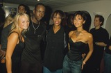 Emma Bunton Photo - Bobby Brown with Wife Whitney Houston  Emma Bunton and Victoria Adams After Whitneys Concert at Wembley Arena 1999 Photo by Alpha-Globe Photos Inc