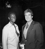 Hugh OBrian Photo - Photo Nate Cutler-Globe Photos Inc Brock Peters Hugh Obrian Brockpetersretro