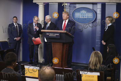 Photos From President Trump and Members of the Coronavirus Task Force hold a press briefing