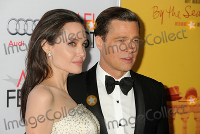 Photo - 5 November 2015 - Hollywood California - Angelina Jolie Pitt Brad Pitt AFI FEST 2015 - By The Sea Premiere held at the TCL Chinese Theatre Photo Credit Byron PurvisAdMedia