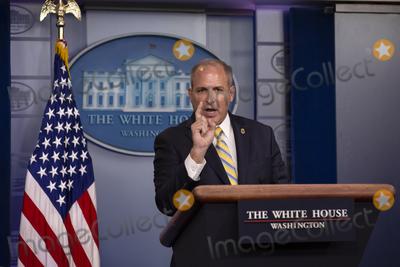 Photos From Mark Morgan Press Briefing