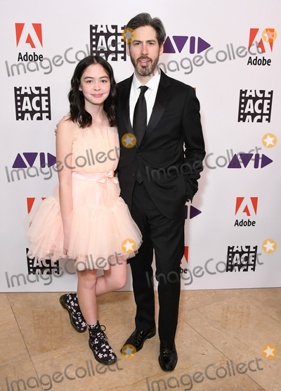 Photo - 17 January 2020 - Beverly Hills California - Josephine Reitman Jason Reitman 2020 ACE Eddie Awards held at Beverly Hilton Hotel Photo Credit Birdie ThompsonAdMedia