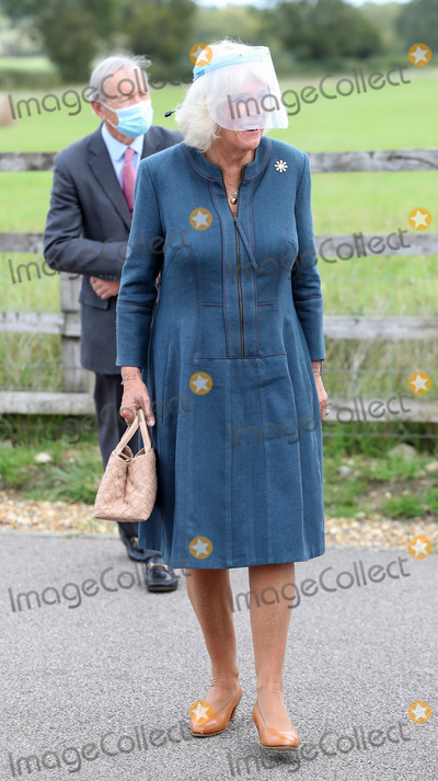 Photos From Camilla Duchess of Cornwall Visits Medical Detection Dogs Training Centre