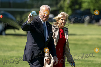Photo - President Joe Biden Returns to White House after Weekend in Delware