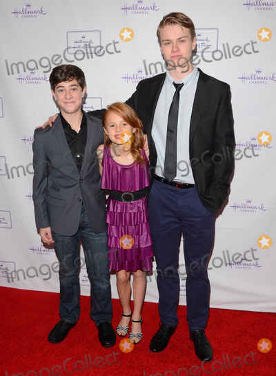 Connor Paton Photo - 20 January 2015 - Los Angeles California - Jaren Lewinson Maggie Elizabeth Jones Connor PatonLos Angeles premiere of Hallmark Hall of Fame Away  Back held at iPic Theater Photo Credit Birdie ThompsonAdMedia