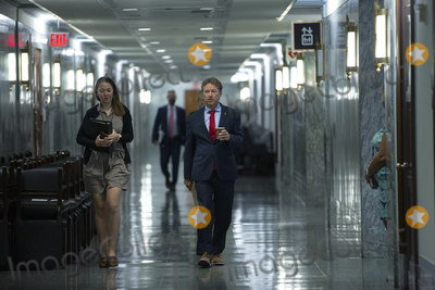 Photo - Mike Pompeo Arrives to Testify Before the Senate