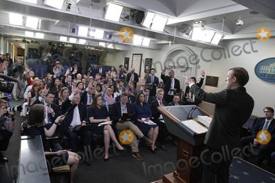 Photos From Jake Sullivan press briefing - Washington