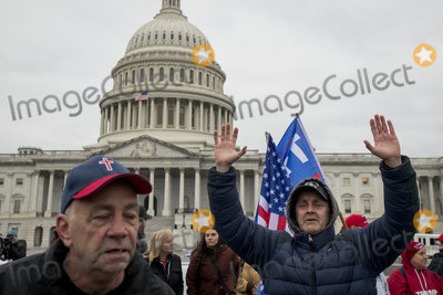 Photo - Trump supporters protest the Electoral Votes Count Cetification