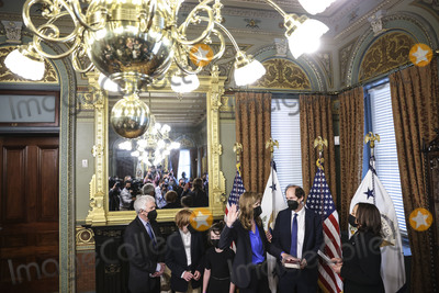 Photo - Vice President Harris Swears In Samantha Power As Administrator of the United States Agency for International Development (USAID)