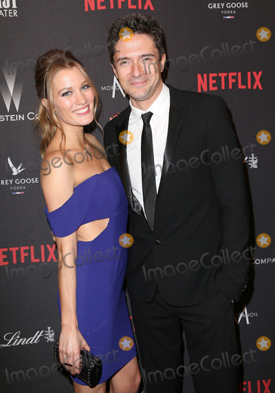 Ashley Hinshaw Photo - 08 January 2016 - Beverly Hills California - Topher Grace Ashley Hinshaw 2017 Weinstein Company And Netflix Golden Globes After Party held at the Beverly Hilton Photo Credit F SadouAdMedia