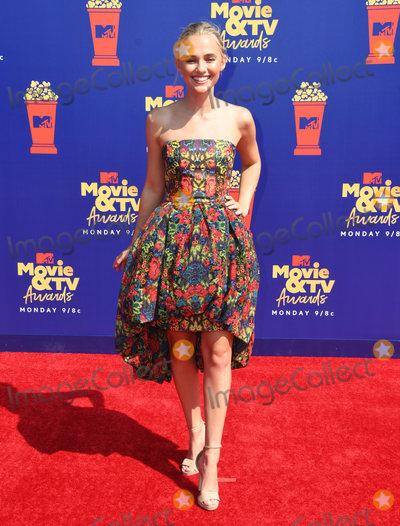 Photo - 15 June 2019 - Santa Monica California - Madison Iseman 2019 MTC Movie and TV Awards held at Barker Hangar Photo Credit Birdie ThompsonAdMedia