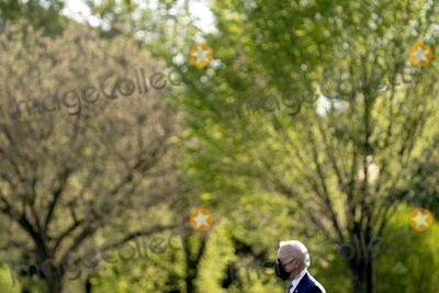 Marine One Photo - US President Joe Biden walks towards Marine One on the Ellipse of the White House in Washington DC US on Friday April 16 2021 Biden will travel to Wilmington Delaware for the weekend Credit Stefani Reynolds  Pool via CNPAdMedia
