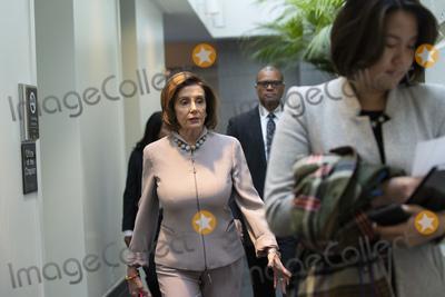 Photos From Democratic Caucus Meeting