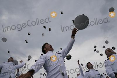 Photo - Harris Address at the US Naval Academy Graduation  Commissioning