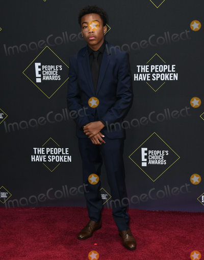 Assante Black Photo - 10 November 2019 - Santa Monica California - Assante Black 2019 Peoples Choice Awards held at Barker Hangar Photo Credit Birdie ThompsonAdMedia
