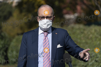 Photos From Larry Kudlow speaks to the Media at the White House