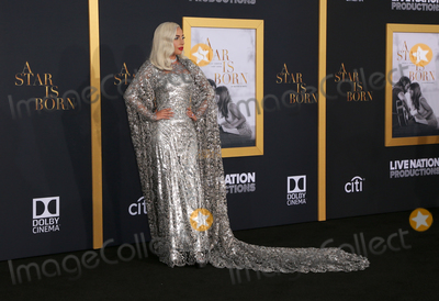 Photo - 24 September 2018-  Los Angeles California - Lady Gaga the Los Angeles premiere of A Star Is Born held at The Shrine Auditorium Photo Credit Faye SadouAdMedia