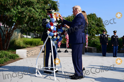 Photos From President Trump Speaks at the Pentagon for 9/11
