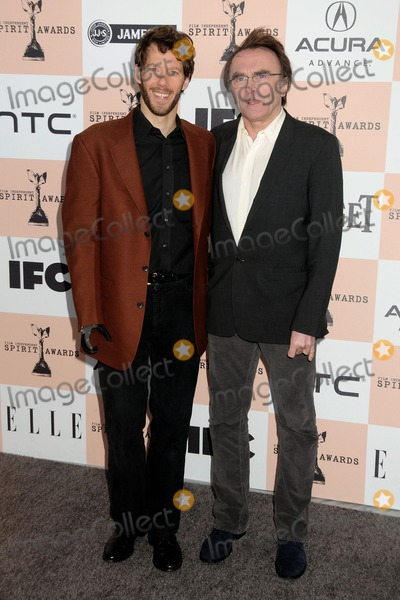 Aron Ralston Photo - 26 February 2011 - Santa Monica California - Aron Ralston and Danny Boyle 2011 Film Independent Spirit Awards - Arrivals held at Santa Monica Beach Photo Byron PurvisAdMedia