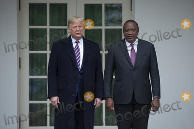 Photos From Trump Participates in the Arrival of Kenya's President Uhuru Kenyatta
