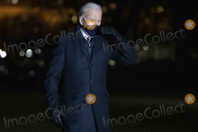 Photo - President Biden returns to the White House following a town hall meeting