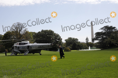 Photo - Donald Trump departs to Bedminster - Washington