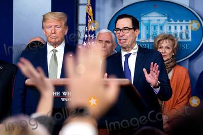 Photos From Coronavirus Taskforce briefing at the White House