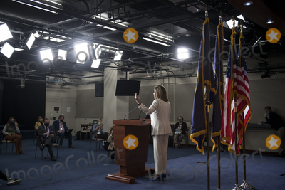 Photos From Speaker of the House Nancy Pelosi Holds a News Conference at the US Capitol