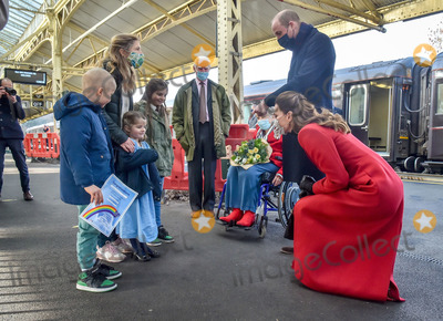 Photos From Royals Arrive at Bath Spa Train Station