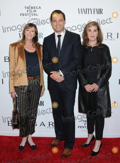 Photo - 23 April 2019 - New York New York - Jane Rosenthal Daniel Paltridge and Paula Weinstein at BVLGARIs World Premiere of Celestial and The Fourth Wave with Vanity Fair for the 18th Annual Tribeca Film Festival at Spring Studios Photo Credit LJ FotosAdMedia