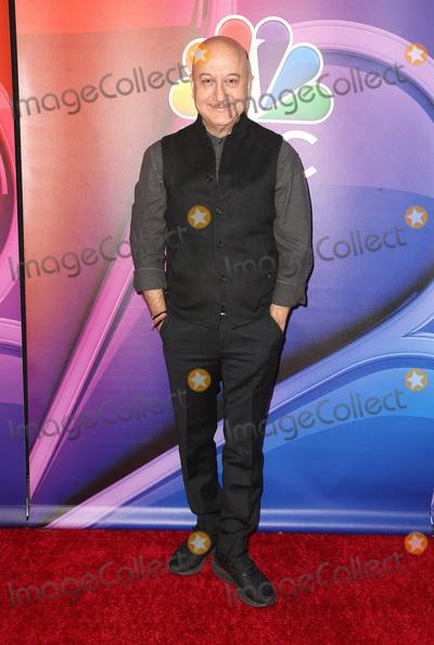 Anupam Kher Photo - 20 February 2019 - Universal City California - Anupam Kher 2019 NBC Los Angeles Mid-Season Press Day held at at NBC Studios Photo Credit Faye SadouAdMedia