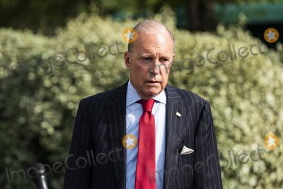 Photos From Kudlow speaks on COVID from White House
